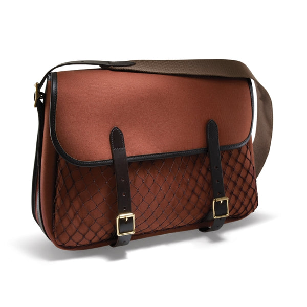 Croots Rosedale Game Bag - Fox Tan with Dark Leather trim