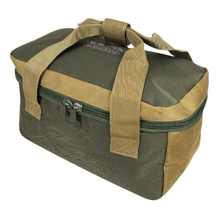 Jack Pyke Sporting Cartridge Carrier - Green/Tan