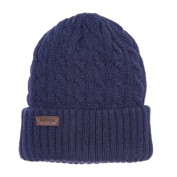 Barbour Balfron Knit Beanie - Navy