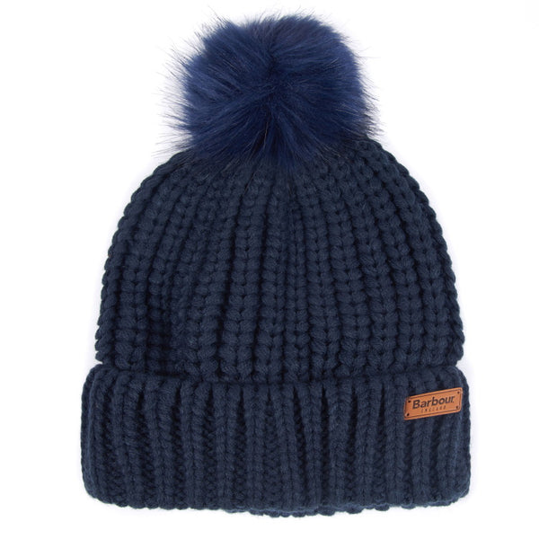 Barbour Ladies Saltburn Beanie - Navy