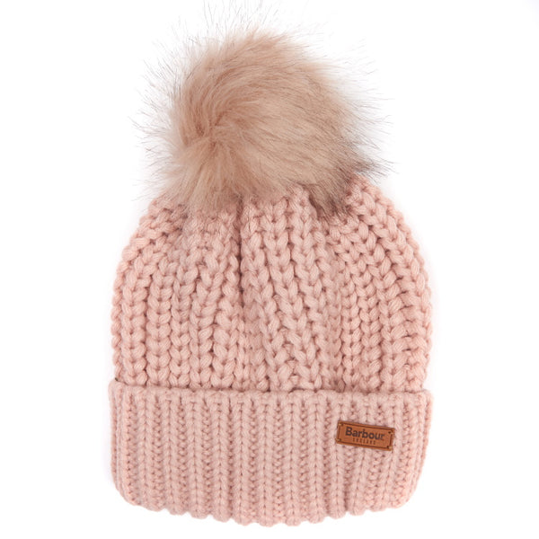 Barbour Ladies Saltburn Beanie - Pink