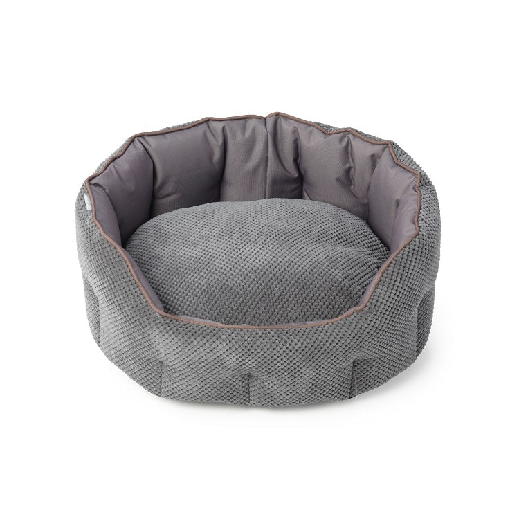 House of Paws Cord Water Resistant Snuggle Bed