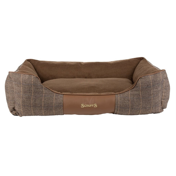 Scruffs Windsor Box Dog Bed - Chestnut