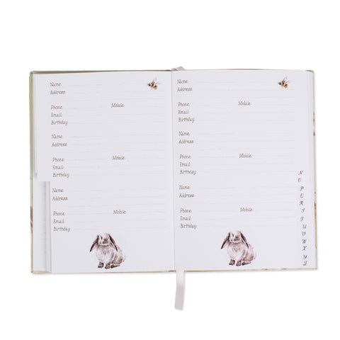 Wrendale Designs Country Set Address Book