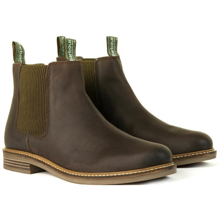 98b73637 Mens Leather Boots, Barbour Farsley Boots - John Norris
