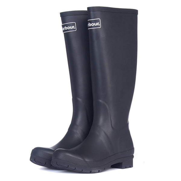 Barbour Ladies Abbey Wellington Boots - Black