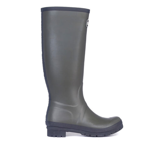 Barbour Ladies Abbey Wellington Boots - Olive