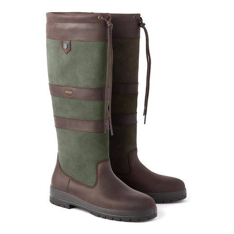 Dubarry Ladies Galway Standard Fit Boot - Ivy Green