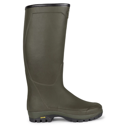 Le Chameau Ladies Country Vibram Neoprene Lined Boots