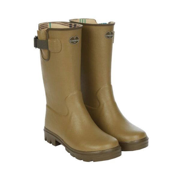 Le Chameau Junior Vierzon Boot - Green