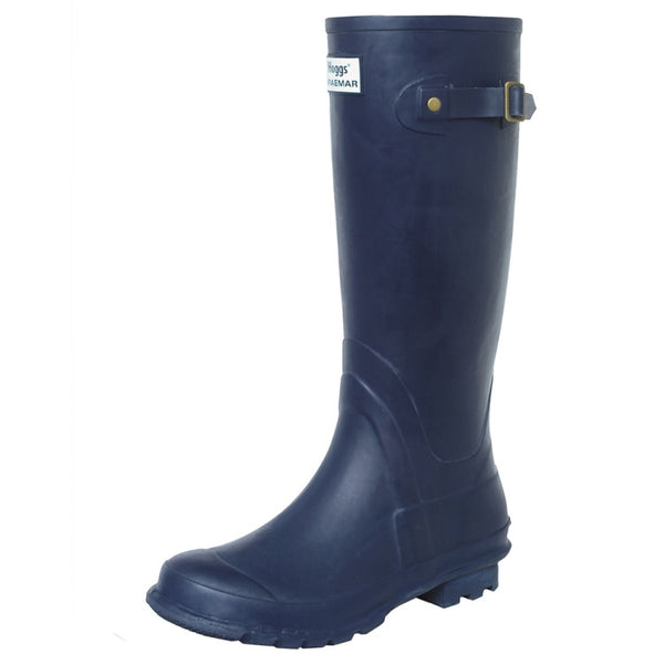 Hoggs of Fife Braemar Wellington Boots - Navy