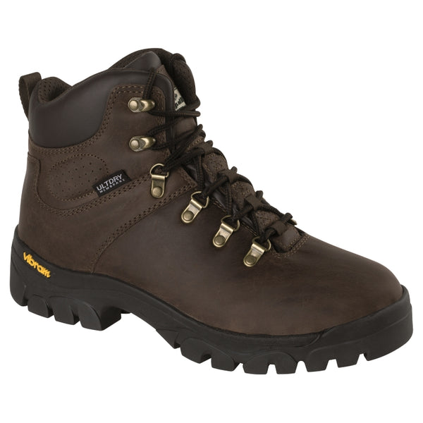 Hoggs of Fife Munro Classic Hiking Boots - Crazy Horse Brown