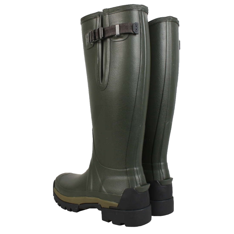 Hunter Ladies Balmoral II Side Adjustable Neoprene Boots - Dark Olive