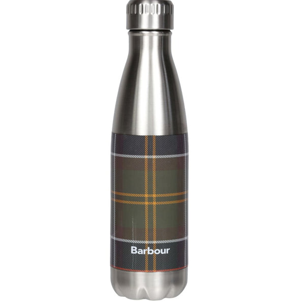 Barbour Tartan Water Bottle Stainless Steel - Classic Tartan