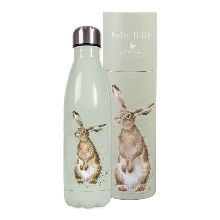 Wrendale Metal Water Bottle - Hare