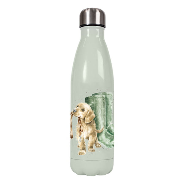 Wrendale Metal Water Bottle - Hopeful