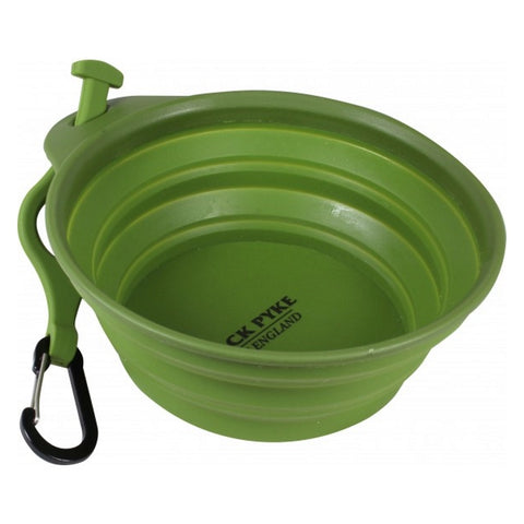 Jack Pyke Deluxe Folding Dog Bowl - Open