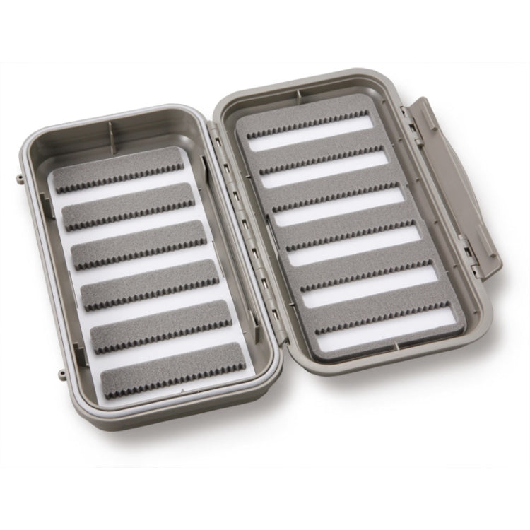 C&F Design Medium 12-Row Fly Box with Two Sided Sling Leaf