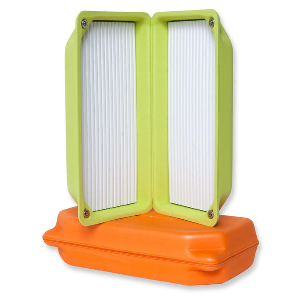 Guideline Ultralight Fly Boxes XL - Lime Green and Orange