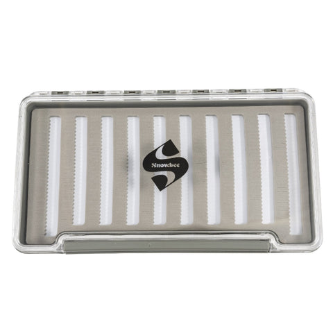 Snowbee Slimline Slit Foam Competition Fly Box
