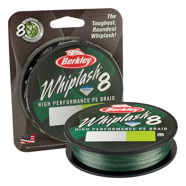 Berkley Whiplash 8 Braid - Green