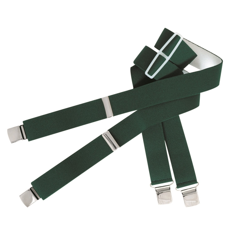 Hoggs of Fife Heavy Duty Braces - Green
