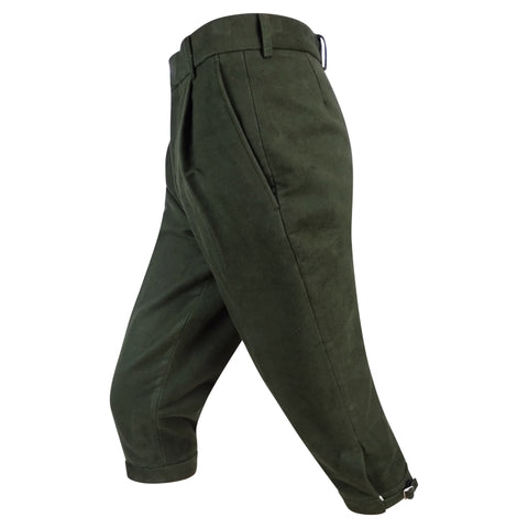 Hoggs of Fife Moleskin Breeks - Dark Olive