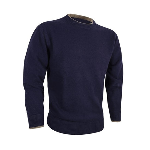 Jack Pyke Ashcombe Crewknit Pullover - Navy