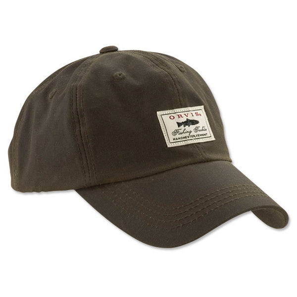 Orvis Vintage Waxed Ball Cap - Olive