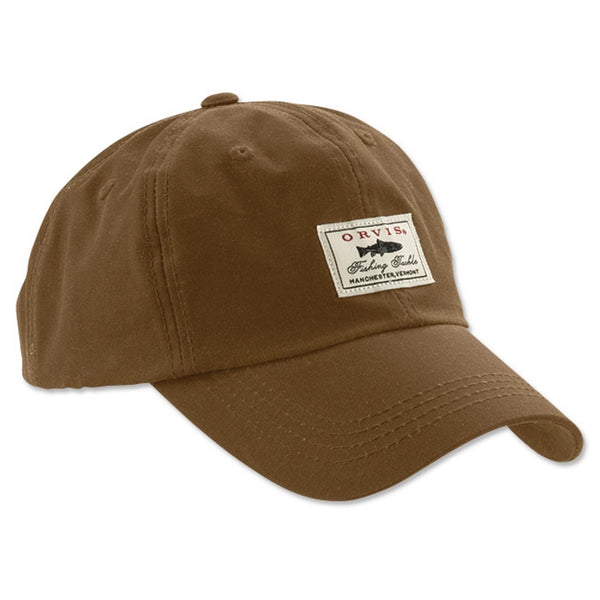 Orvis Vintage Waxed Ball Cap - Sandstone