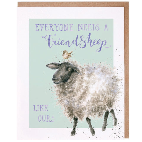 Wrendale Designs Celebration Card - Friendsheep
