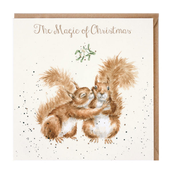 Wrendale Designs The Magic of Christmas Christmas Card