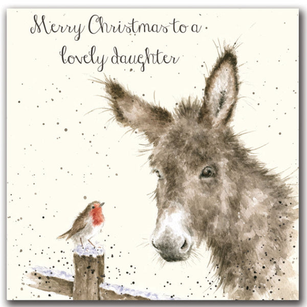 Wrendale Designs Christmas Card Relations - Lovely Daughter