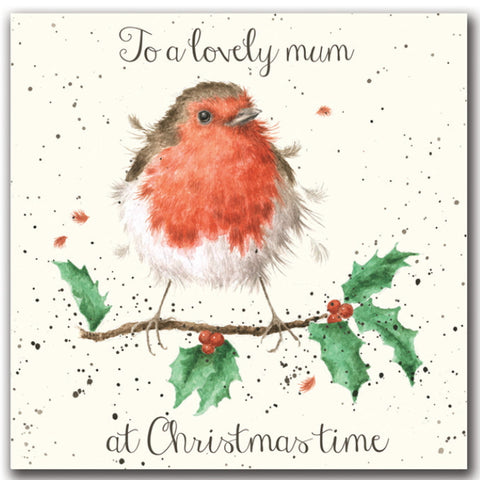 Wrendale Designs Christmas Card Relations - Lovely Mum