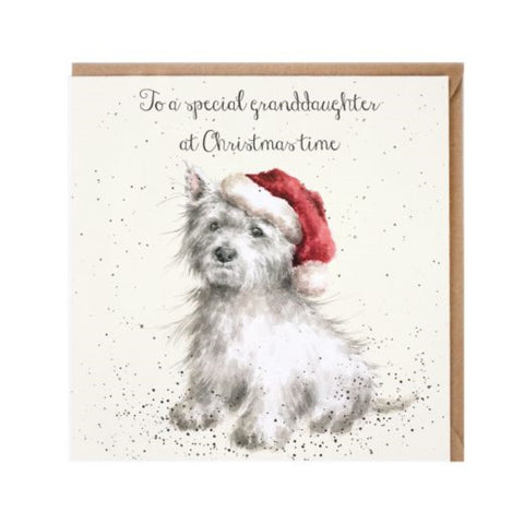 Wrendale Designs Christmas Card Relations - Special Grandaughter