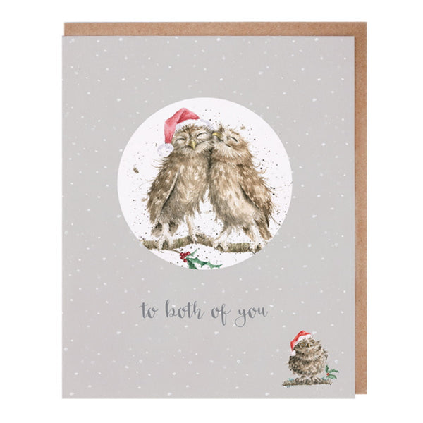 Wrendale Designs Relation Decoration Christmas Card - Both of You
