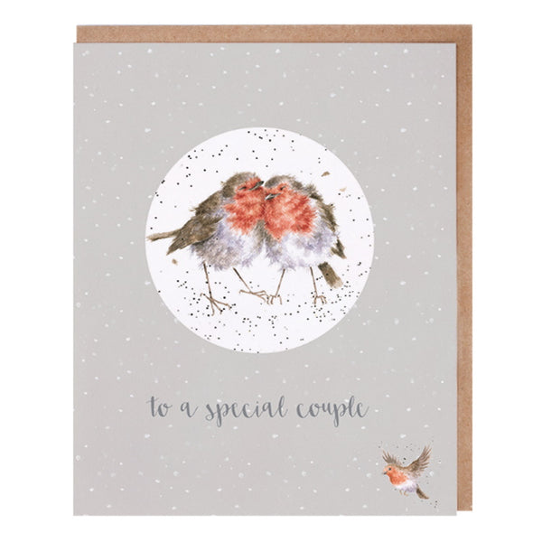 Wrendale Designs Relation Decoration Christmas Card - Special Couple
