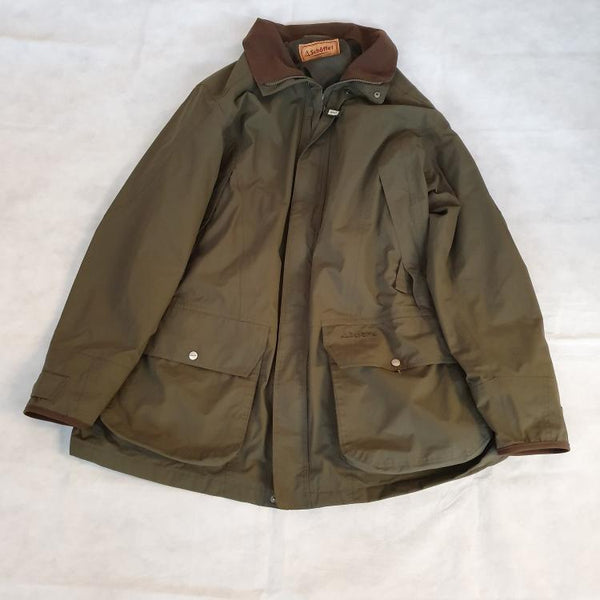 USED Schoffel Ptarmigan Ultralight 2 Coat - Dark Olive Size 50in (Factory Repaired) (494)