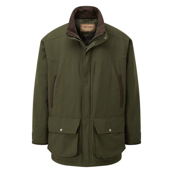Schoffel Classic Ptarmigan Coat - Hunter Green