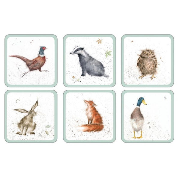 Pimpernel Wrendale Coasters - Assorted Set of 6