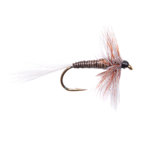 Beacon Beige Hackled Dry Flies