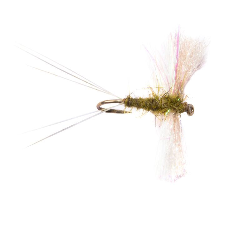 Snowshoe Spinner Olive Flies