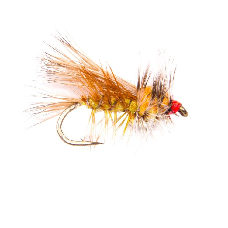 Yellow Stimulator Flies