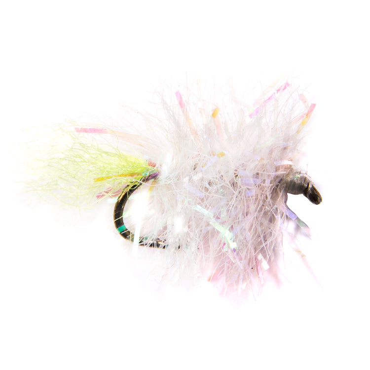 UV Pearl Blob Flies