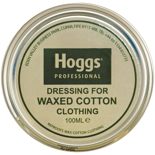 Hoggs of Fife Dressing for Waxed Cotton Clothing - Neutral 100ml Tin