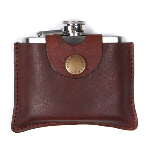 Barbour 5oz Hinged Hip Flask