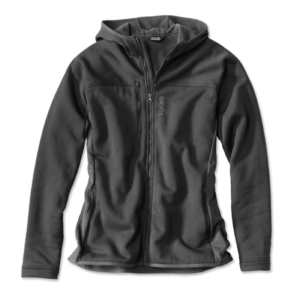 Orvis Pro Hooded Fleece Jacket - Black