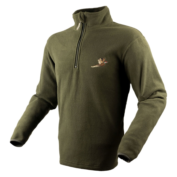 Jack Pyke Pheasant Motif Fleece Top
