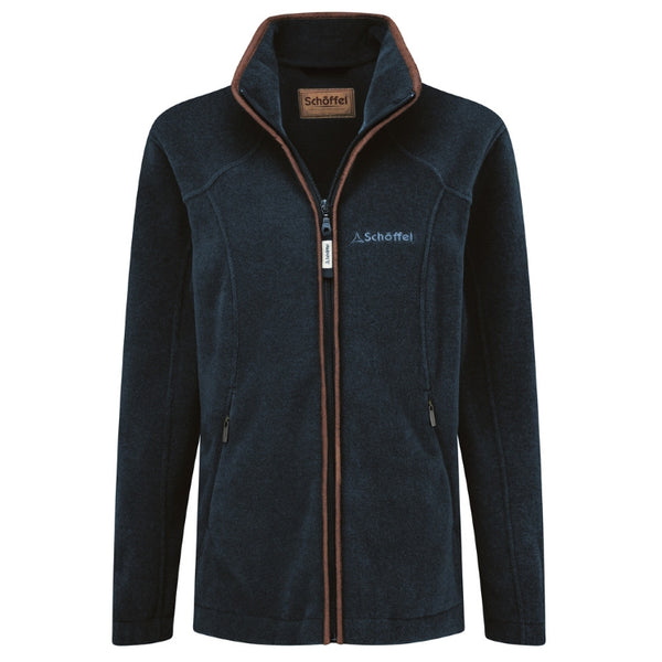 Schoffel Ladies Burley Fleece Jacket - Kingfisher
