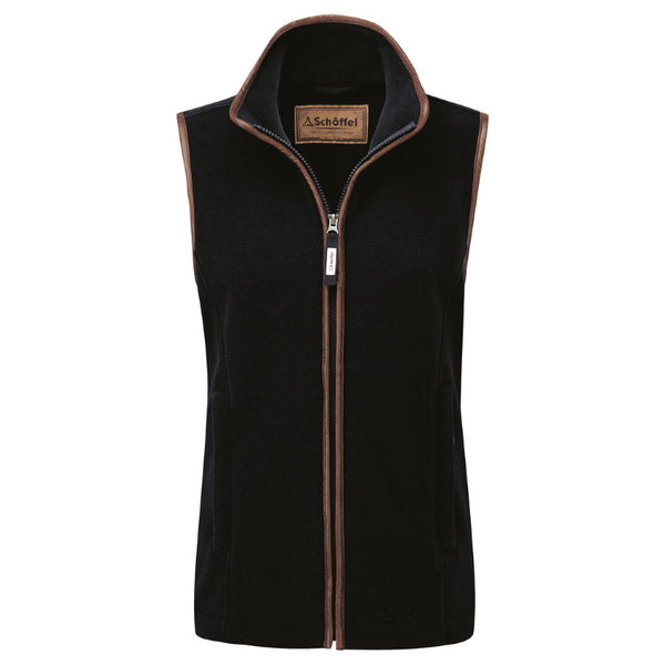 Schoffel Ladies Lyndon Fleece Gilet - Navy